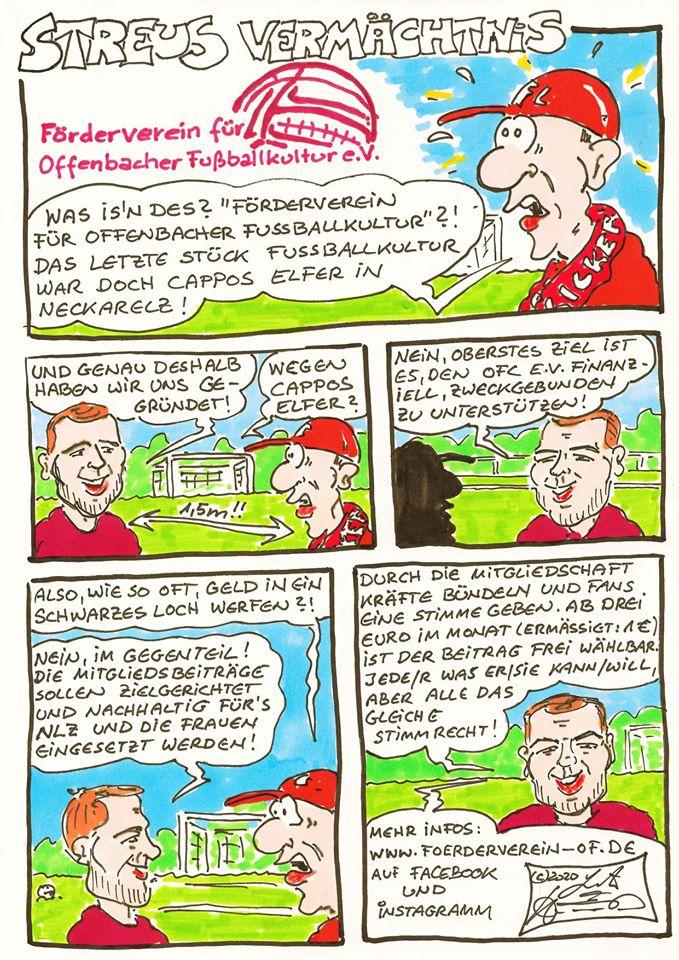 Förderverein-Comic