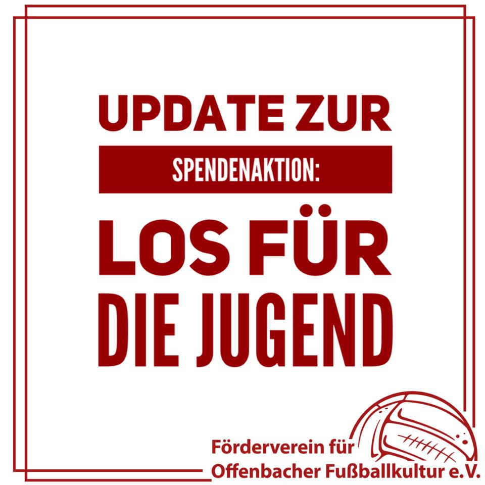 Update Spendenaktion