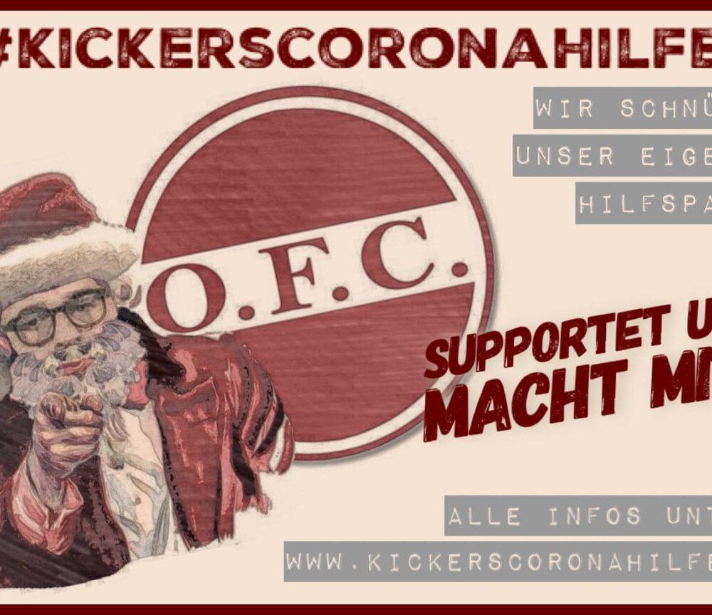 #Kickerscoronahilfe